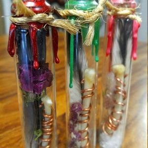 Witch Vial for Good Luck and Love